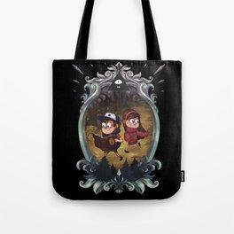 GF - Black Background Version Tote Bag