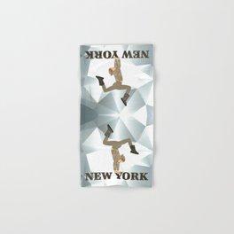 Gymnastics New York Hand & Bath Towel