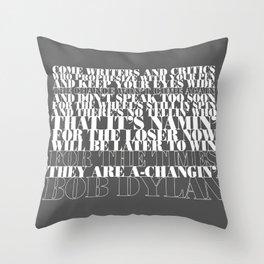 Bob Dylan song Throw Pillow