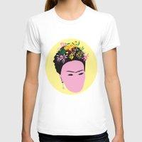 frida T-shirts featuring Frida by Emmanuelle Ly