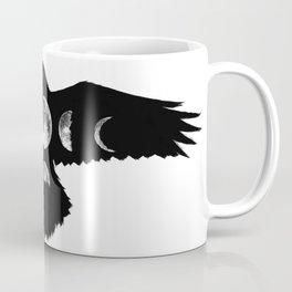Celestial Crow Coffee Mug