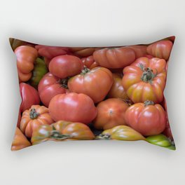 Tomato Pattern Rectangular Pillow