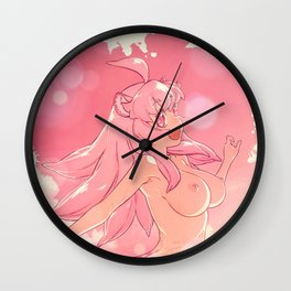 Sexy Beach III Wall Clock