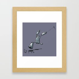 Fly a Kite Framed Art Print