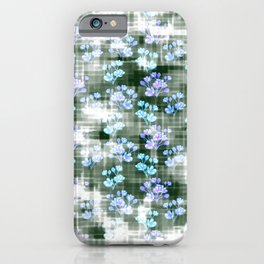 Jardin dans la brume... iPhone Case