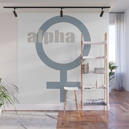 alpha female symbol Wall Mural