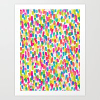 olivia joy Art Prints featuring Color Joy by Jacqueline Maldonado