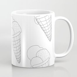Eis essen Coffee Mug