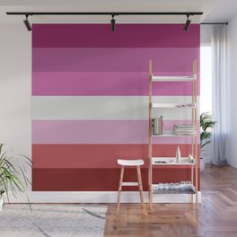 Lesbian Flag Wall Mural