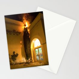 Fire Tree Stationery Cards