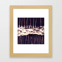 Down and Up Framed Art Print