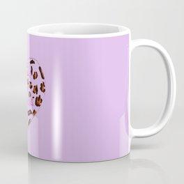 BeautyIsAReligion `Leopard Heart` Coffee Mug