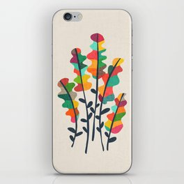 Flower from the meadow iPhone Skin