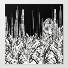 Camouflage UZU JUNGLE Canvas Print