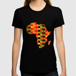 African Style Kente Cloth T-shirt
