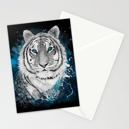 Tiger, don't stop...BE strong Stationery Cards