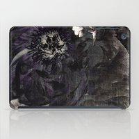 goth iPad Cases featuring goth peony by inourgardentoo