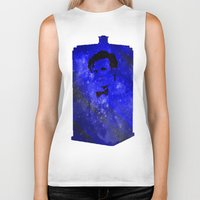 doctor who Biker Tanks featuring Doctor Who by Fimbis