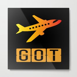 Gothenburg-Landvetter Airport Metal Print