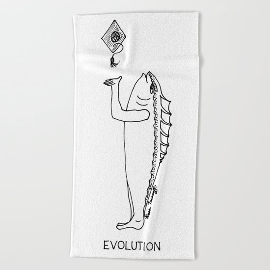 Evolution Beach Towel