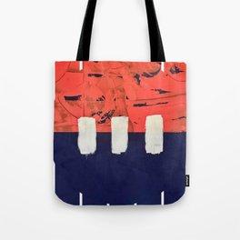 Stitch in Time - line graphic Tote Bag