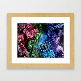 Schizoid Framed Art Print