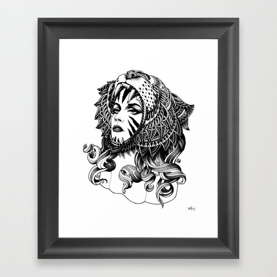 Tigress Framed Art Print