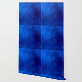 Misty Deep Blue Wallpaper