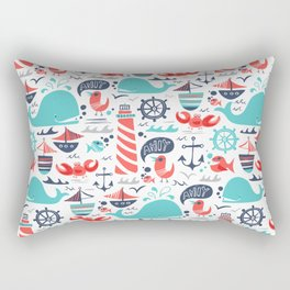 Ahoy Matey Rectangular Pillow