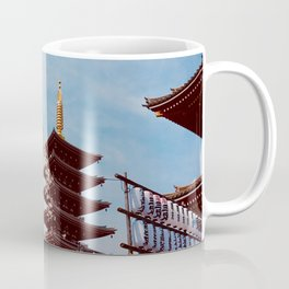 Sensoji in Spring Coffee Mug