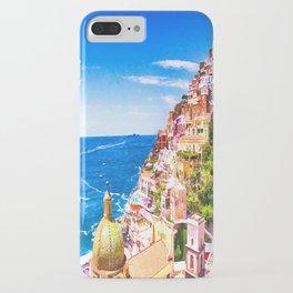 Colorful Positano Italy iPhone Case