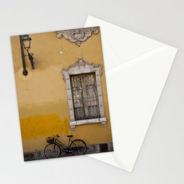 On the Street in Parma Stationery Cards