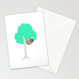 A week in the life of a sloth Stationery Cards