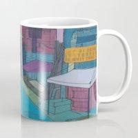 seoul Mugs featuring Seoul City #2 by Rob McClelland