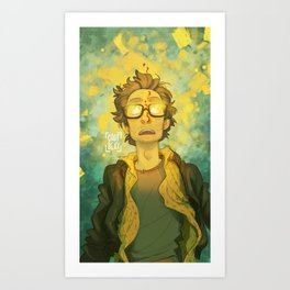 Deadlights Art Print