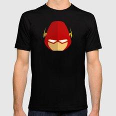 Flash Mens Fitted Tee Black MEDIUM