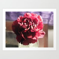 A Glimpse Of Romance Art Print