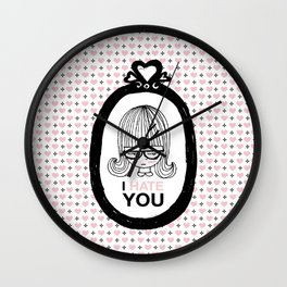 I Hate You / Picture Wall Clock