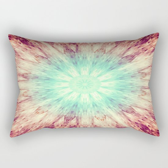 Mandala Glow Rectangular Pillow