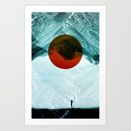 Found in isolation Art Print