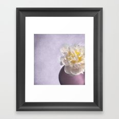 SNOWBALL Framed Art Print
