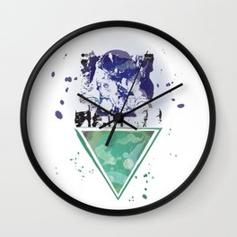 Starman Waiting Wall Clock