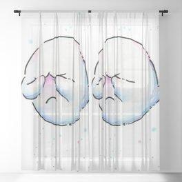 Shy Ghost Sheer Curtain