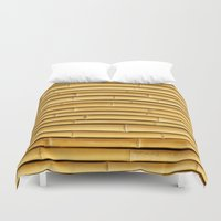 bamboo Duvet Covers featuring Bamboo by Patterns and Textures