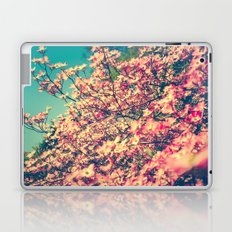 Her Favorite Color was Pink Flowers Laptop & iPad Skin