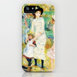Children On The Seashore, Guernsey - Digital Remastered Edition iPhone Case
