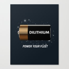 Batteries Not Included Canvas Print
