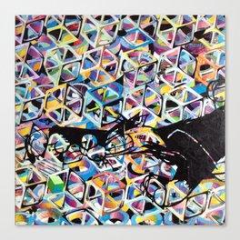 SYLVESTER/ CUBES Canvas Print