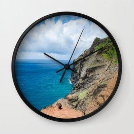 Na Pali Wall Clock