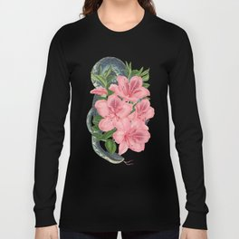 Serpents and Flowers Long Sleeve T-shirt